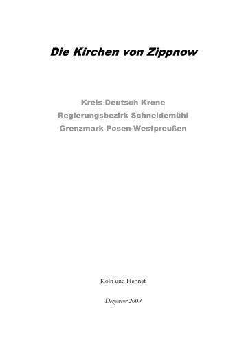 Die Kirchen von Zippnow - the Roots in DEUTSCH KRONE