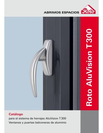 Roto AluV ision T 300 Catálogo - Bruken