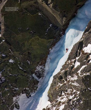 Mount Washington's five-star classic, Pinnacle Gully (NEI 3). Photo ...