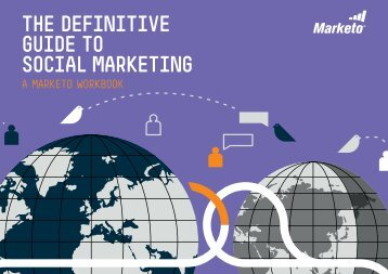 The DefiniTive GuiDe To Social MarkeTinG - Marketo