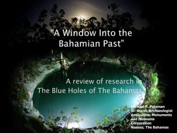 A review of research in The Blue Holes