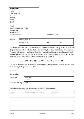 bauwerber info stadtgemeinde bad v slau. Black Bedroom Furniture Sets. Home Design Ideas