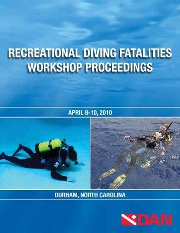 RecReational Diving Fatalities WoRkshop pRoceeDings