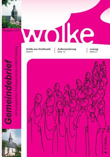 Wolke 01/2011 - bei der ev. Kirchengemeinde Krofdorf-Gleiberg