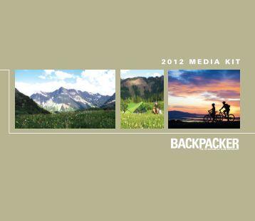 2012 media kit - Backpacker Magazine