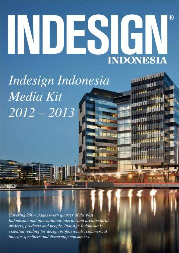 Indesign Indonesia Media Kit 2012 – 2013