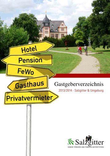 Aktuelles Gastgeberverzeichnis - Stadt Salzgitter