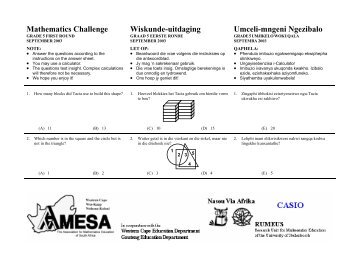 Grade 5103 - AMESA