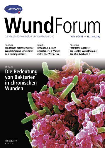 Behandlung einer nekrotisierten Wunde mit ... - Manfred Kunkel