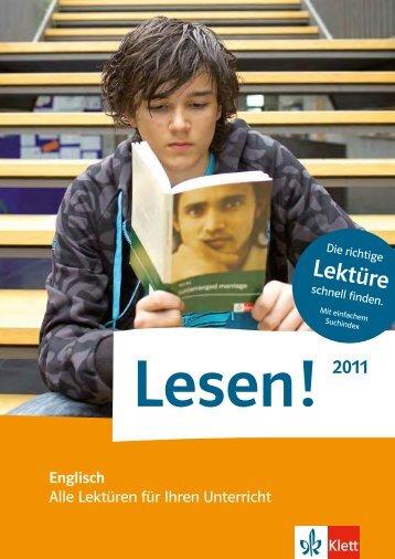 Lektüre - Ernst Klett Verlag