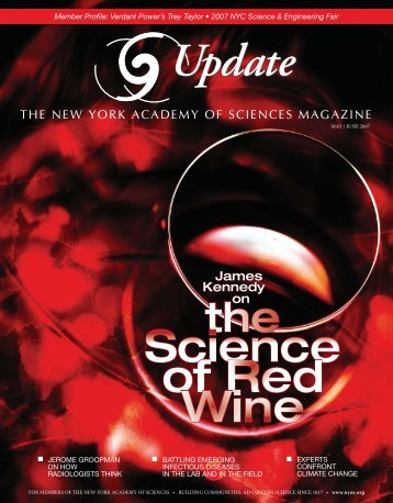 The new york academy of sciences magazine - Oregon State ...