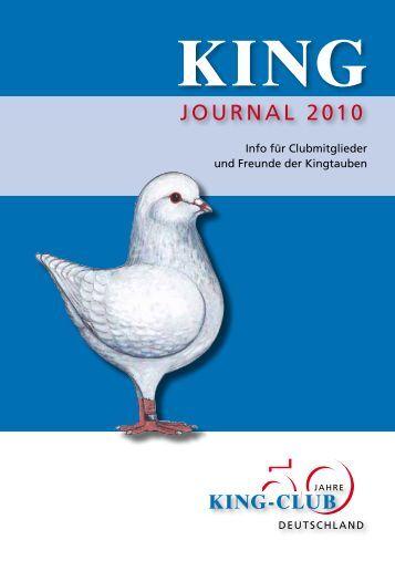 JOURNAL 2010 - King-Club Deutschland