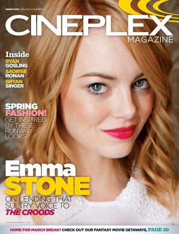 Cineplex Magazine March2013