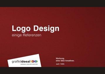 PDF Referenzen Logodesign - Grafik Ideeal GmbH