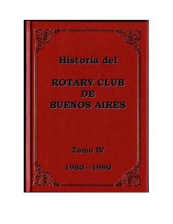 Historia del Rotary Club de Buenos Aires - Rotary Club Buenos Aires