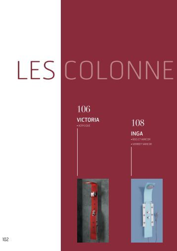 colonnes de douche kebo. Black Bedroom Furniture Sets. Home Design Ideas