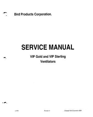 Breas vivo 50 service manual