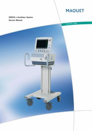 puritan bennett 980 ventilator service manual