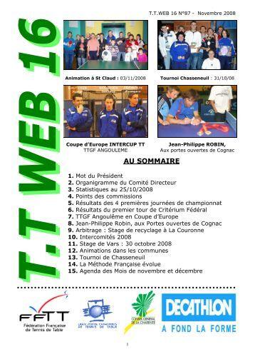 Cd 54 tennis de table comit d partemental de meurthe et - Comite charente tennis de table ...