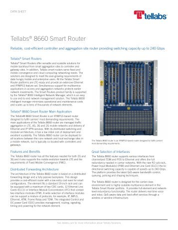 Tellabs 8660 Smart Router