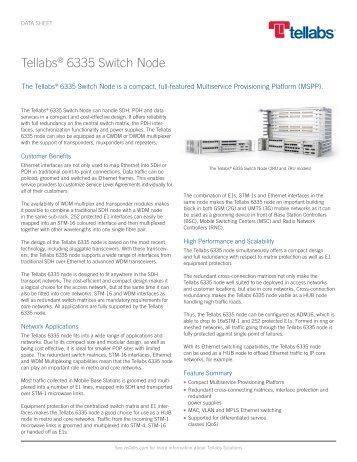 Tellabs 6335 Switch Node