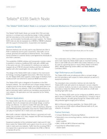 Tellabs 6335 Switch Node