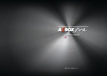 AzBox Me hardware manual
