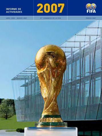 Informe de actividades 2007 - FIFA.com