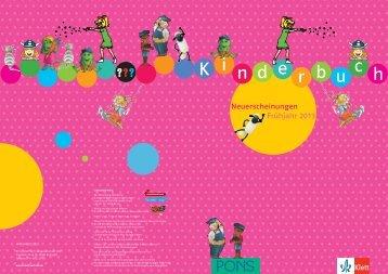 NEV_Kinderbuch_FJ2013.pdf - Ernst Klett Verlag