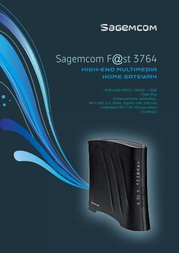 sagemcom fst 3864 manual pdf