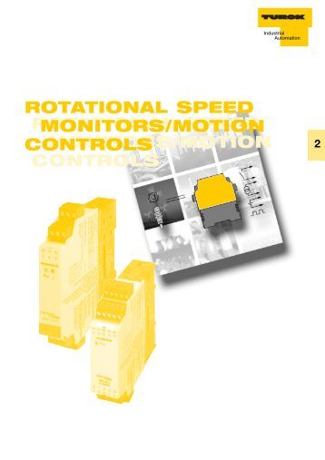 Rotating Speed Monitor : Rotational speed monitor im cdtri clearwater