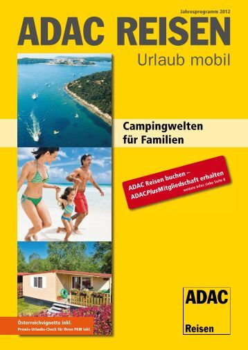 ADAC - Campingwelten für Familien - 2012 - Parteneri – Perfect Tour