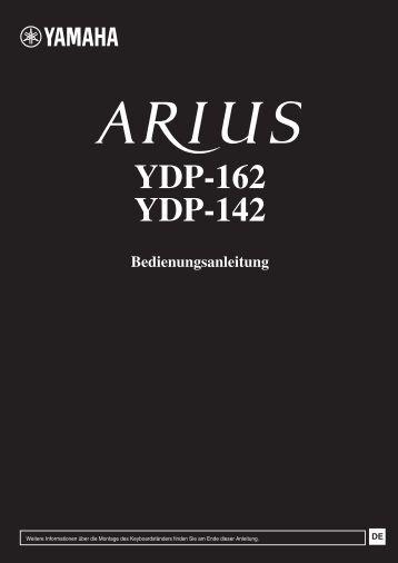 Bedienungsanleitung YDP_162_142.yamaha.pdf - Just Music