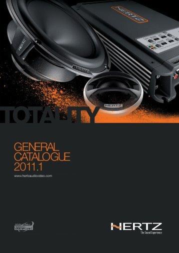 Hertz General Catalogue 2011.pdf - Four Car Audio