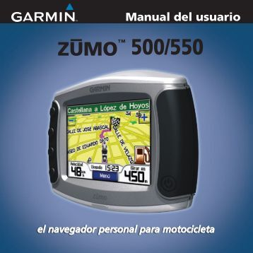 Manual del usuario - Garmin