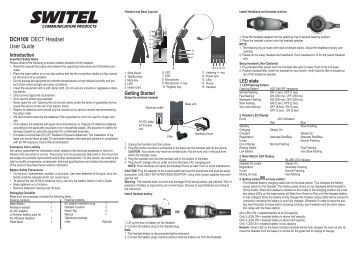 TM310 Monaural Noise Canc