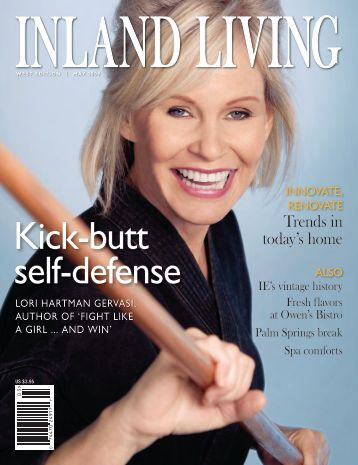 KICK-BUTT SELF-DEFENSE: Lori Hartman Gervasi, author