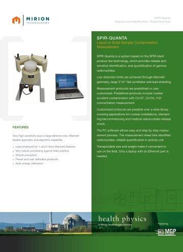 Download SPIR-Quanta Datasheet - Mirion  Technologies