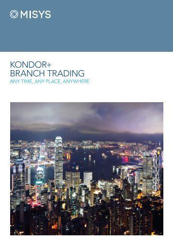 New Kondo Trading