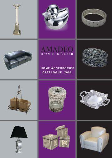 HOME ACCESSORIES CATALOGUE 2009 - Verhagen Group