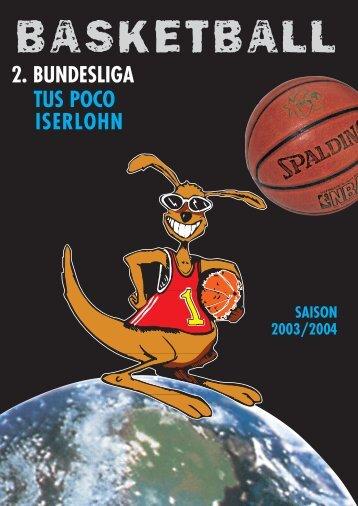 2. BUNDESLIGA TUS POCO ISERLOHN - NOMA-Iserlohn-Kangaroos