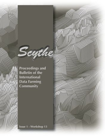 Proceedings and Bulletin of the International Data Farming Community
