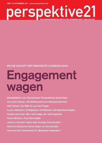 Engagement wagen - Perspektive 21