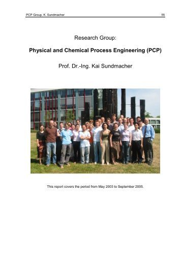 Physical and Chemical Process Engineering - Max Planck Institute ...