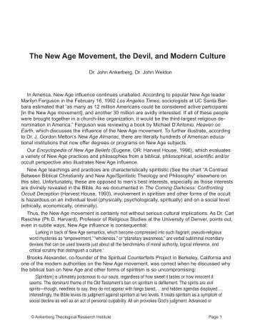american culture and the new age movement Encuentra the new age movement in american culture de richard kyle (isbn: 9780761800118) en amazon envíos gratis a partir de 19.