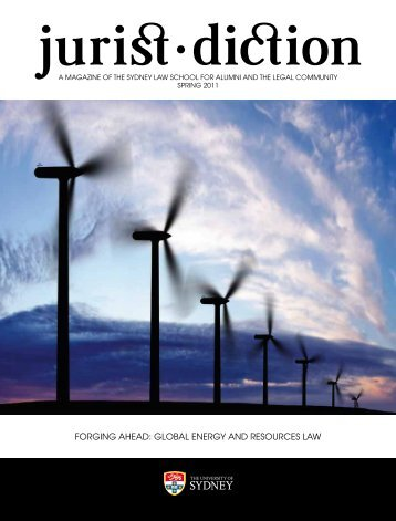 gLoBAL energy And reSourceS LAw - The University of Sydney