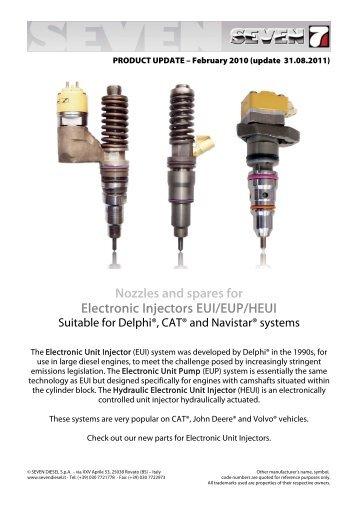 EUI-HEUI Injector - SEVEN DIESEL SpA