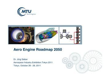 Aero Engine Roadmap 2050 - MTU Aero Engines