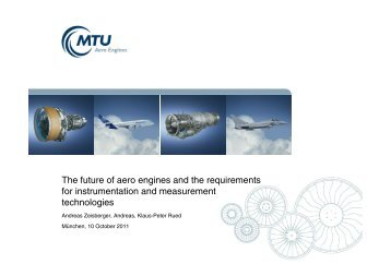 The future of aero engines and the requirements - MTU Aero Engines