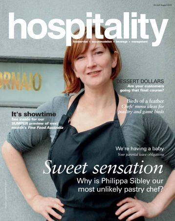 download Hospitality August 2010 - Foodservice Gateway